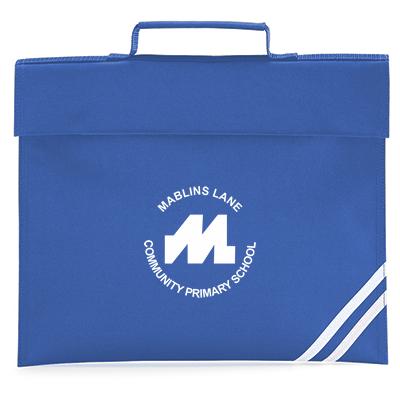 Royal blue book bag-0