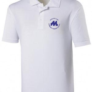 White polo shirt (220gsm)-0
