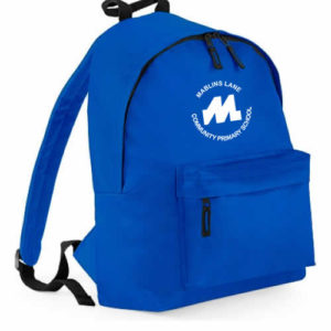 Royal blue fashion backpack-0
