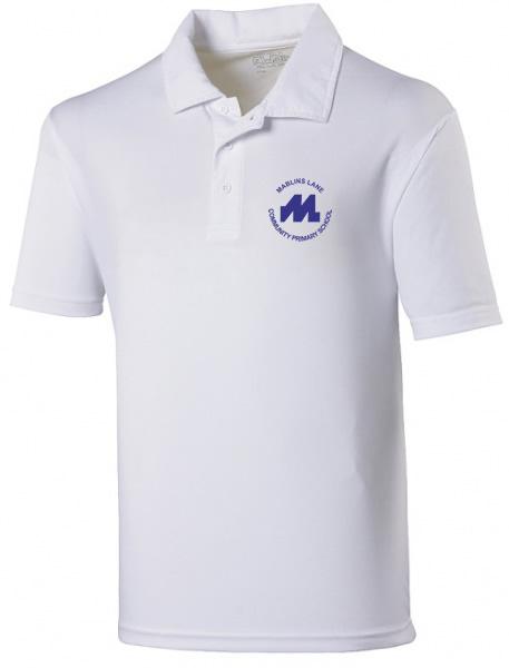 White polo shirt (170gsm)-0